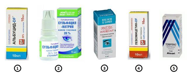 Глазные капли - лучшее решение для лечения ячменя на глазу