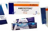Амелотекс – инструкция, показания, состав, способ применения таблеток, геля Амелотекс, уколов и свечей