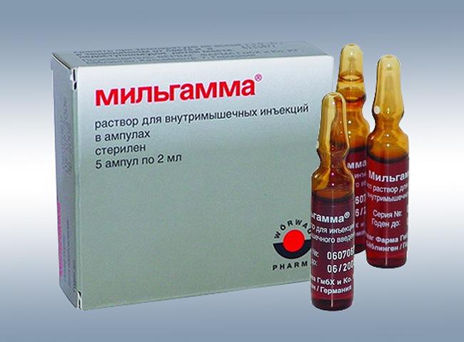 Препарат Мильгамма назначается при неврологических заболеваниях различного происхождения: невритах, невралгии, полинейропатии, корешковом синдроме, ретробульбарном неврите, поражении лицевого нерва
