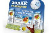 Зодак – инструкция, показания при аллергии, состав, способ применения для детей и взрослых
